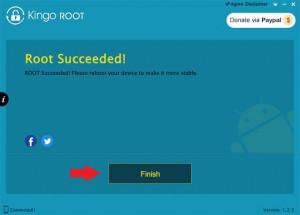 kingo-root-finish nasıl root edilir