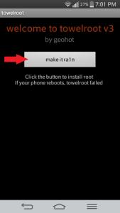 android nasıl root edilir