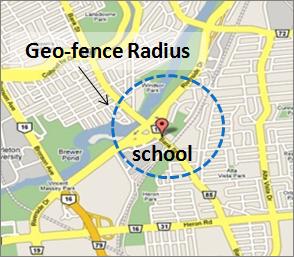 Android için geo-fencing